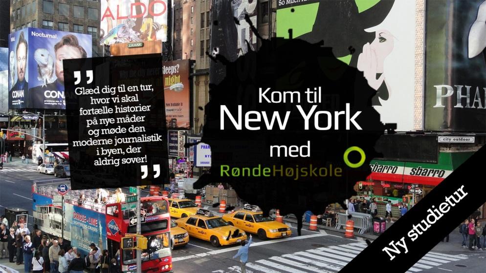 Kom til New York med Rønde Højskole